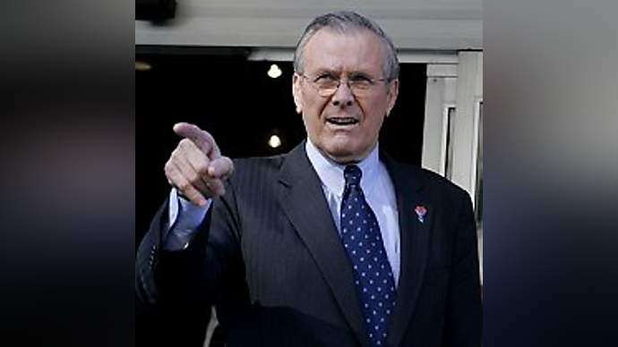 image for On Surprise Visit To Iraq, Donald Rumsfeld Kidnapped By Insurgents, Immediately Given Back.