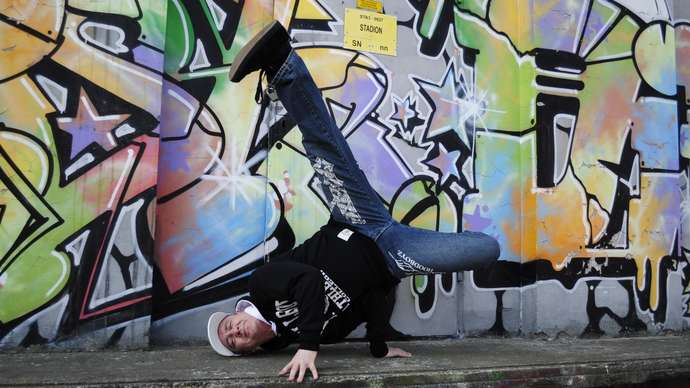 image for Man Waited Until His Wife Went Out, So That He Could Attempt Breakdancing