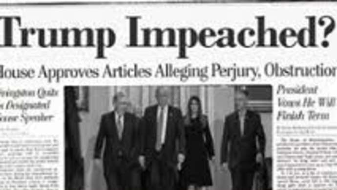 image for Trump Denies Rumors that He's Been Impeached