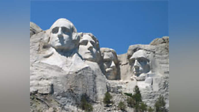 image for Fred Dalton Thompson Gives Mount Rushmore a Makeover