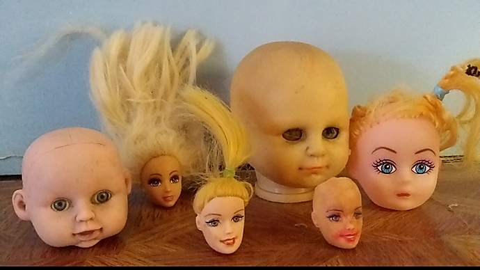 image for Man Discovers Strange Collection Of Dolls' Heads In Bloke's House
