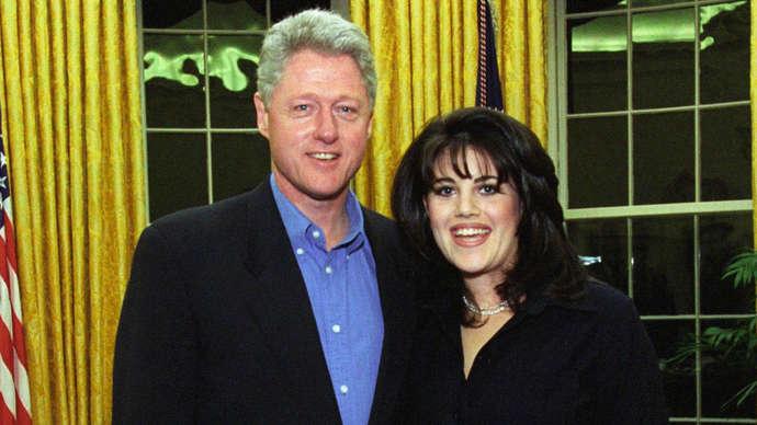 image for Sarah Sanders 'Is Monica Lewinsky In Drag'
