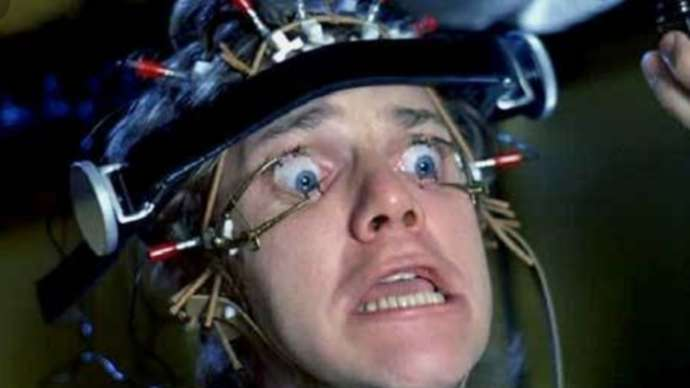 image for President Trump To Undergo Aversion Therapy, Like Alex Did In 'A Clockwork Orange'