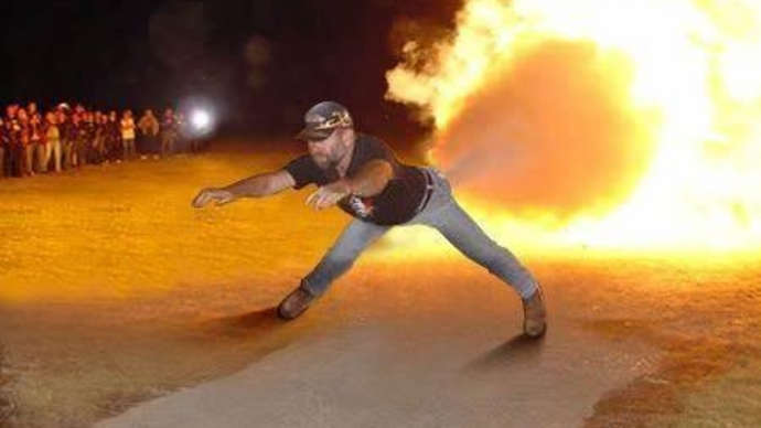 image for Bloke Whose Arse Exploded Is Out Of Danger
