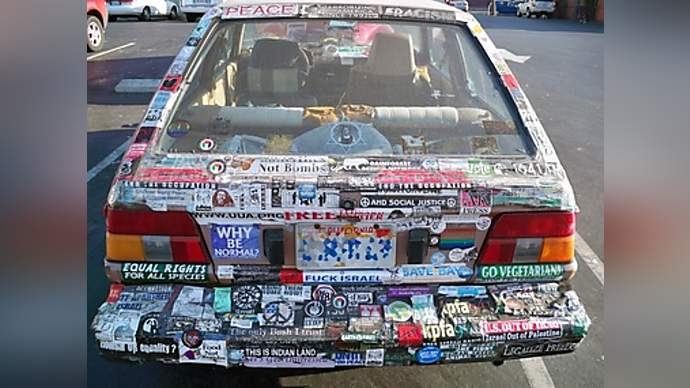 image for Bumper Stickers Annonymous