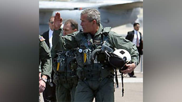 image for Dan Rather Sees Bush Surrender To Authorities Over AWOL Issues