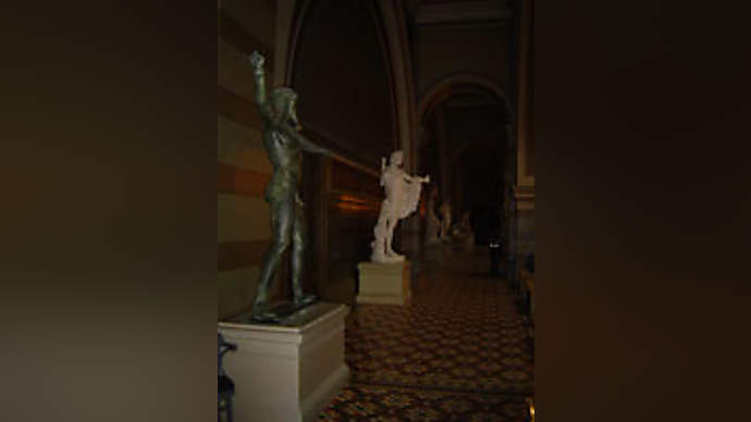 image for Egyptian Statue In Museum Now Practically Dancing!