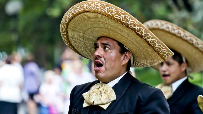 image for New storm after Harry and Meghan hire Mexican band to announce their arrival wherever they go