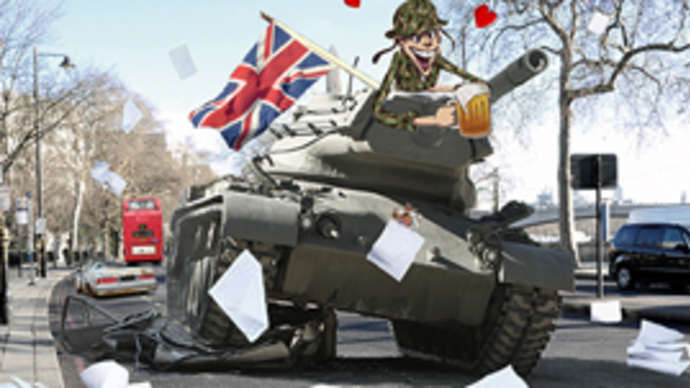 image for Squaddie runs amok in government think tank