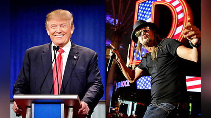 image for Trump announces Kid Rock is new FBI Director