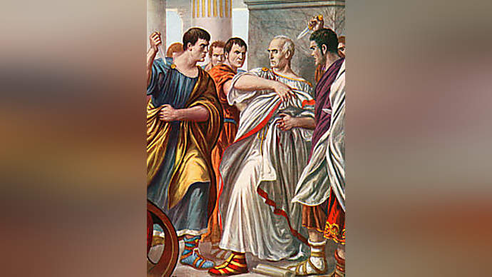 image for Julius Caesar gets attacked for eating sheep