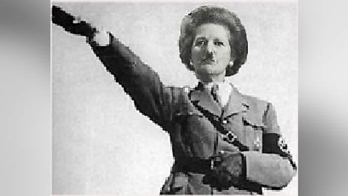 image for Thatcher's death - celebrity hypochrites sing her praises