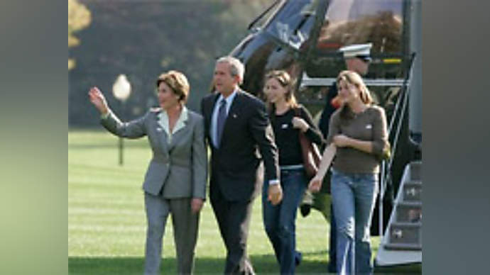 Spoof news: Bush Family Advertising Deal With Anheuser-Busch