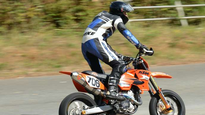 image for Motorcyclist Leant Over To Release Fart