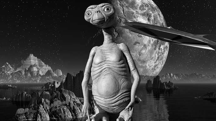 image for President Trump And E.T. Have Area 51 Meeting Next Week