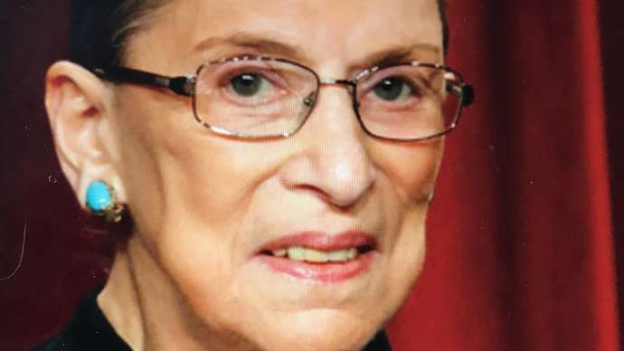 image for Where's Ruthie? Ginsburg's Dead, But Nobody Knows It