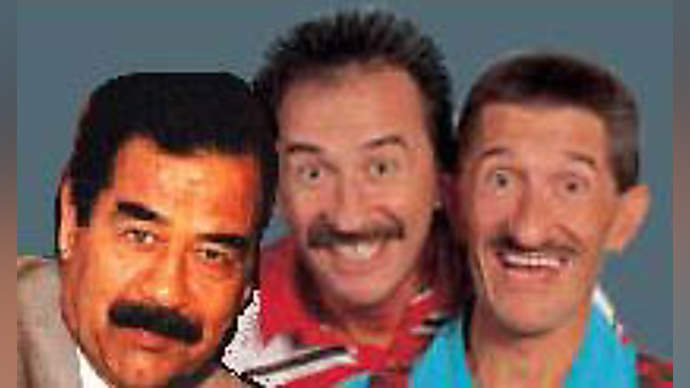 image for Chuckle Brothers Reveal Saddam as Long Lost Brother