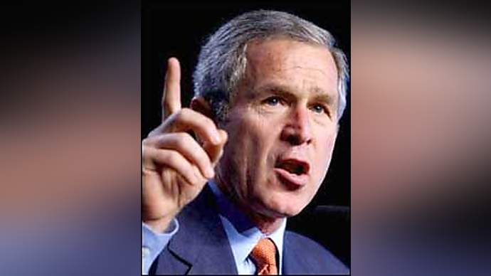 image for George Bush Asks Terrorists for Help to Postpone Elections