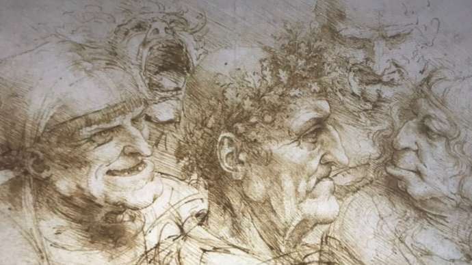 image for Rare Leonardo Da Vinci Drawing Of Prince Philip Goes On Display
