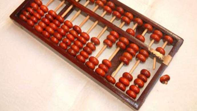 image for Abacus still works after 66 years in loft