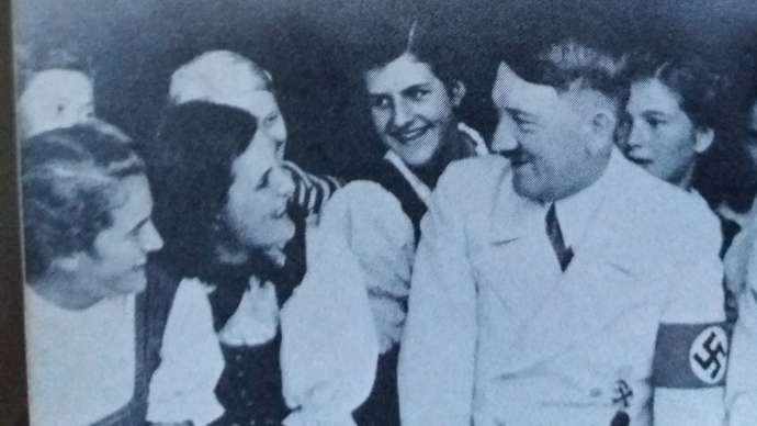 image for Eva Braun's Secret Diary Reveals Truth Behind British Army's Song About Hitler