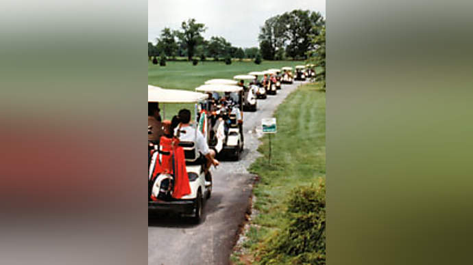 image for Micheal Jordan Orders a Fleet of Lamborghini Golf Carts