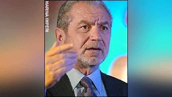 """image for Sir Alan Sugar Tells UK Prime Minister, """"You're Fired!"""""""