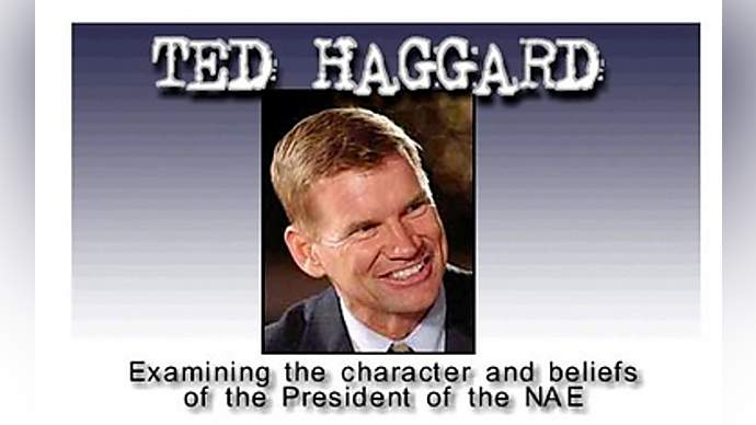"""image for Haggard:""""I didn't have to pay"""""""