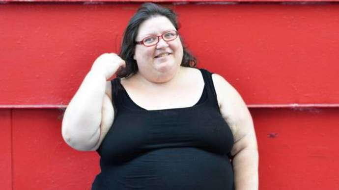 image for Woman's Overweight Friends Worry that She Might Be Getting a Little Too Fat