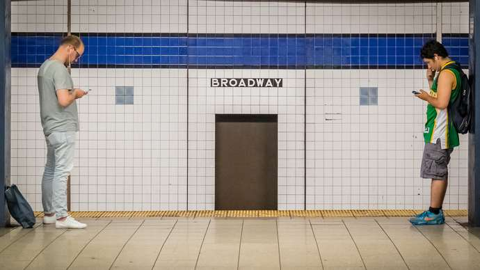 image for NYC Subway Trains Fitted With Poor Doors For Half-Price MetroCard Holders