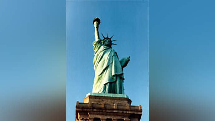image for Scores Missing After Statue of Liberty's Vagina Breaks Loose