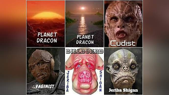 image for Planet Dracon on the verge of war