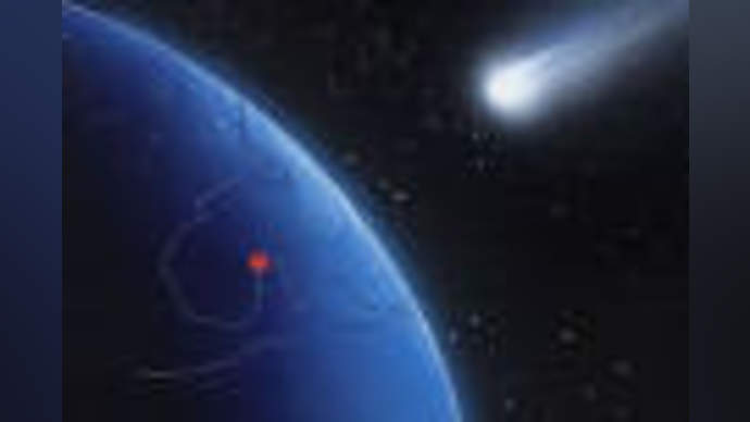 image for Asteroid plummets toward Britney Spears concert -- NASA launches rocket in attempt to speed it up