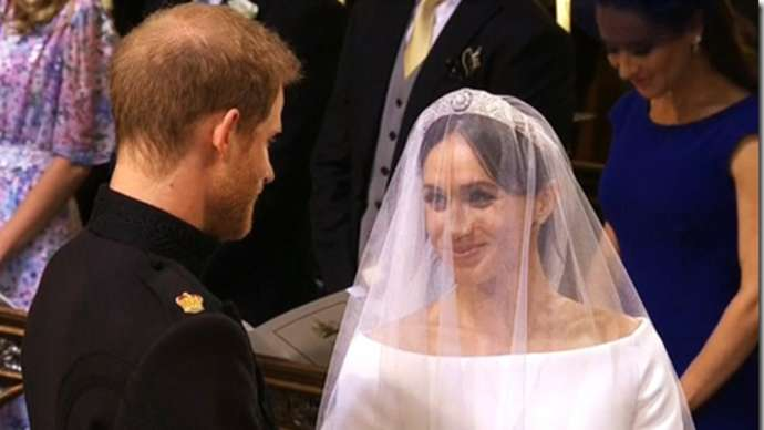 image for Harry and Meghan step back from royal duties to form mixed tag wrestling team