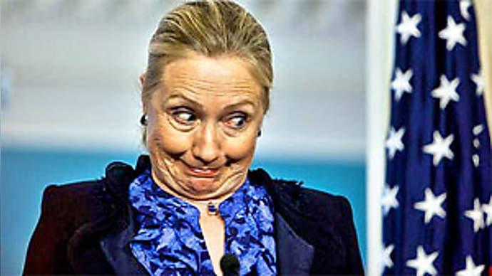 image for Hillary Clinton Breaks Toe Kicking London Reporter