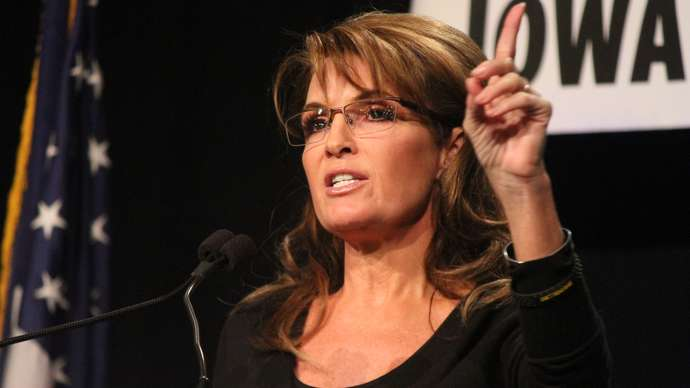 image for Astronomers find supermassive black holes in Sarah Palin's head