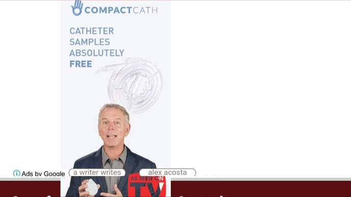 image for Man Targeted By Catheter Ad