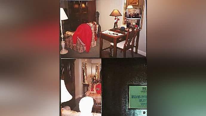 image for Rick Hilton Showcases Elvis Presley Room At Paris Hilton