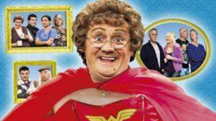 image for Man hopes his Funny bone will survive Mrs Brown's Boys on Christmas Day