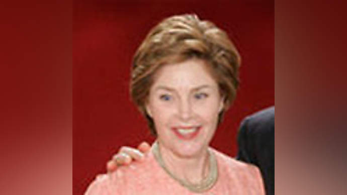 image for Laura Bush's surgeon says George is a pain in the neck