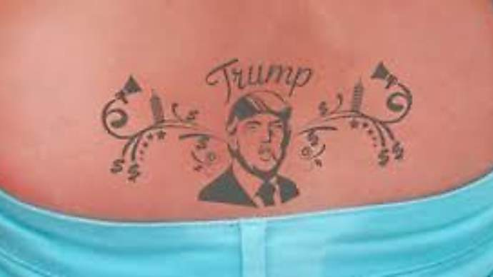 image for Trump demands to see Clinton tats