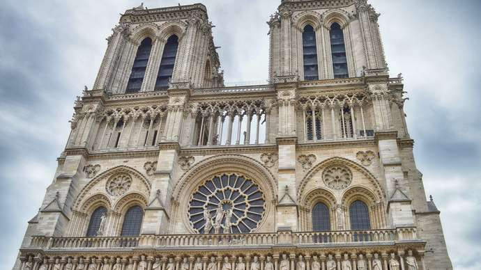 image for Mysterious Man With Hunchback Seen Exiting Notre Dame During Fire