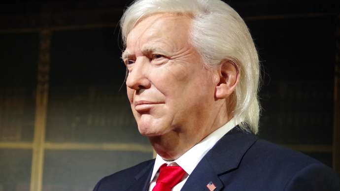 image for President Trump Impersonator Arrested
