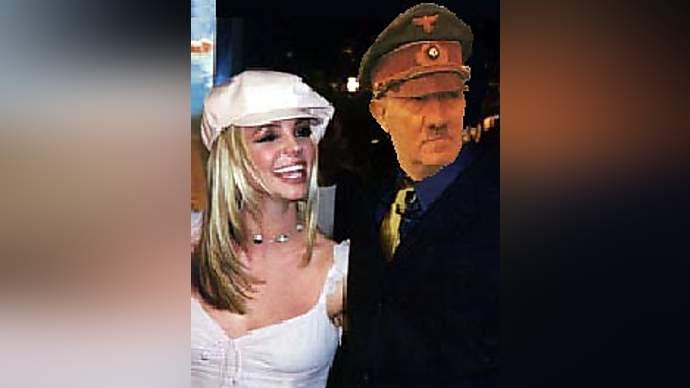 image for Britney Spears' secret marriage to Adolf Hitler