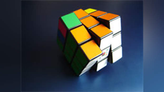 image for Universe only one square on a Rubik's Cube