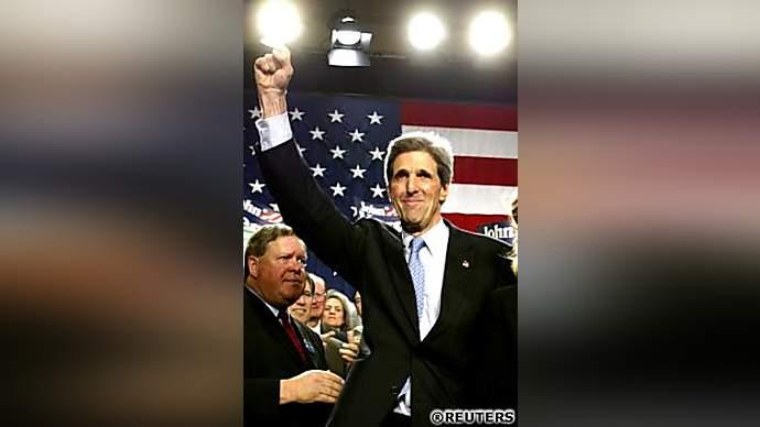 image for John Kerry Captures Osama Bin Laden in Pakistan