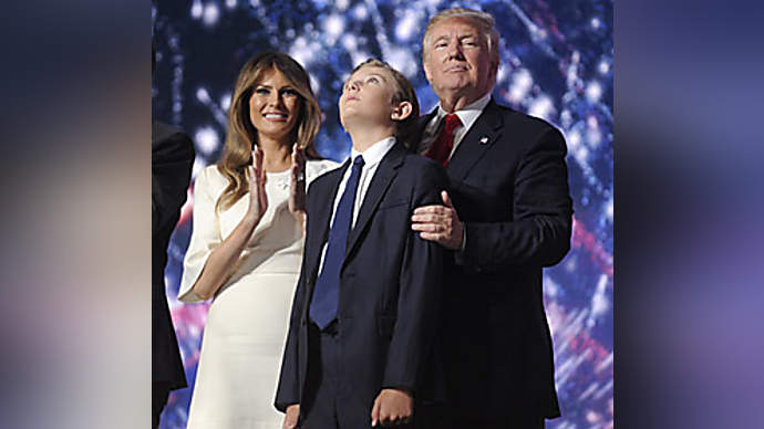 image for Reverse Autism Shaming--How Barron Trump Landed a White House Job