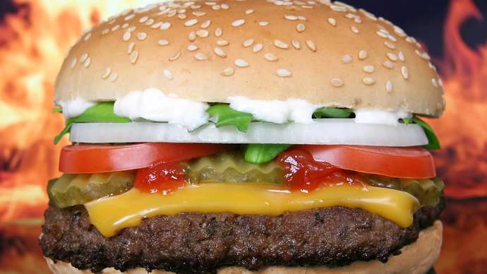 image for Iran Sends 1,000 Hamburgers To Donald Trump