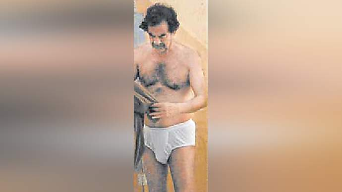 image for Saddam Hussein Signs Underwear Deal with Calvin Klein