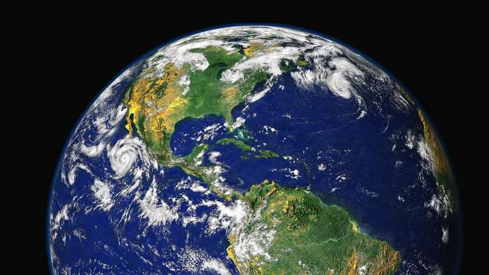 image for Nigel Farage believes the Earth is flat